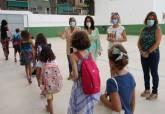 Visita al inicio del curso en los colegios de Infantil y Primaria