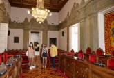 Jóvenes voluntarios que harán prácticas en la Concejalía de Juventud