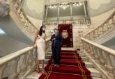 Recepción en el Palacio Consistorial.