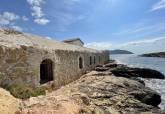 Yacimiento en los baños termales de la Marrana en Isla Plana y El Tintero
