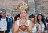 El Teatro Romano se suma a los actos de las fiestas de Carthagineses y Romanos con la exposición temporal 'Una historia hecha fiesta'