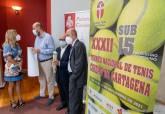 Presentación XXXII Torneo nacional de tenis sub-15 'Ciudad de Cartagena'