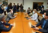 Encuentro con el Comisario europeo de Medio Ambiente, Virginijus Sinkevičius para abordar la situación del Mar Menor