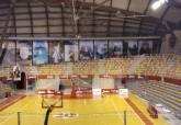 Mural en el Palacio de Deportes.