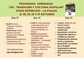 La segunda edición de las Jornadas de Tradición y Cultura Popular de la UP se celebrarán en la zona norte