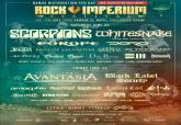 Distribución por días del Rock Imperium Fest