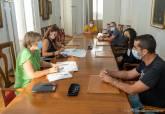 Reunión con el comité de empresa de Navantia.