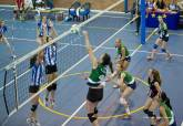 Equipo Algar Sur Menor de voleibol femenino en la fase de ascenso