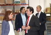 Visita de Ana Belén Castejón a empresas de la comarca para formación ADLE - Ampliar imagen