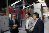 Visita de Ana Belén Castejón a empresas de la comarca para formación ADLE - Se amplía imagen