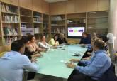 Reunión de la Agencia de Desarrollo Local y Empleo - Ampliar imagen